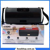 Портативна колонка Atlanfa XTREME RW-1888BT 30W - стерео колонка з Bluetooth, ремінцем, сабвуфером і радіо, фото 3