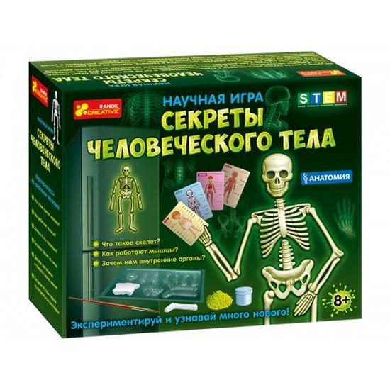 Набір для експериментів Анатомия. Скелет человека Рос Ранок