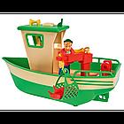 Детская игрушечная Лодка рыбацкая Чарли из серии Пожарный Сэм Simba игровой набор для детей, фото 3