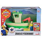 Детская игрушечная Лодка рыбацкая Чарли из серии Пожарный Сэм Simba игровой набор для детей, фото 6