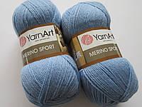 Меріно спорт - 768 голубий