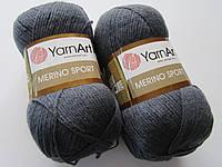 Меріно спорт - 771 темно сірий