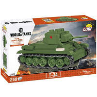 Конструктор Cobi Танк Т-34, 268 деталей (COBI-3061)