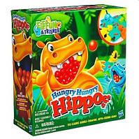 """Настольная игра Hasbro """"Голодные бегемотики"""" Hungry Hungry Hippos (98936)"""