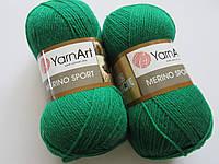 Меріно спорт - 777 зелений