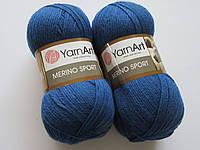 Меріно спорт - 782 синій