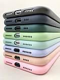 Цветной силиконовый чехол для Apple, фото 3