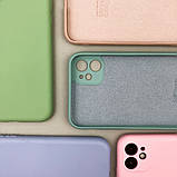 Цветной силиконовый чехол для Apple, фото 2