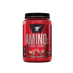 BSN Amino X 1000 грам (інші смаки) блакитна малина, кавун, полуниця-апельсин