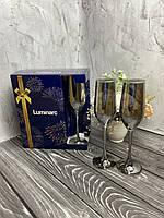 Набор бокалов для шампанского Luminarc P1564 Celeste Сияющий Графит 160мл 6 шт