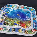Мини-бассейн водяной коврик с рыбками( 66х55 см Синий ), фото 5