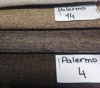 Мебельная ткань Palermo для обивки рогожка коричневая