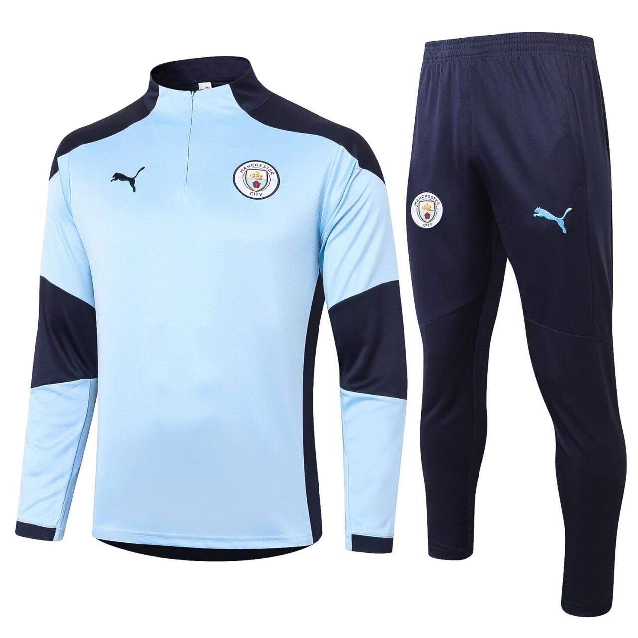 Тренировочный костюм Puma ФК Манчестер Сити 20/21 основной комплект