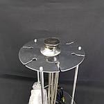 Электрошашлычница Помощница 1000 Вт на 6 шампуров с таймером, фото 4