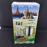 Электрошашлычница Помощница 1000 Вт на 6 шампуров с таймером, фото 6