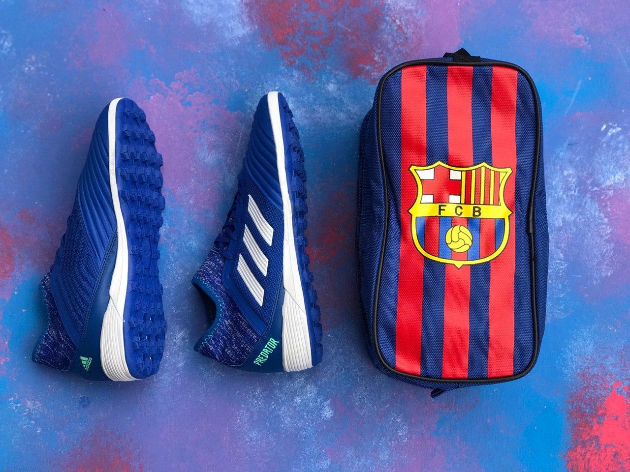 Сумка Спортивная для обуви FC  Вarcelona/сумка для футболиста/Барселона