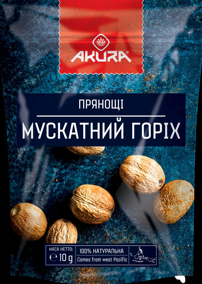 "Мускатний орех целый 15 г. ТМ ""Акура"""