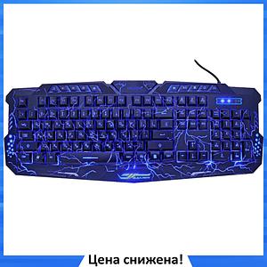 Игровая клавиатура с подсветкой молния Atlanfa M200L - Проводная клавиатура Razer с тремя режимами подсветки