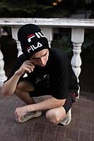 Шапка FILA/Шапка фила/шапка женская/шапка мужская/шапка чёрная, фото 1