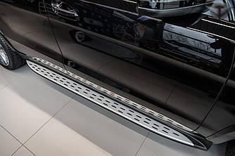 Подножки Mercedes GLS X166 пороги ступеньки площадки