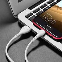 Провод, шнур micro USB на USB HOCO X37 7081, 1 м, белый, фото 6