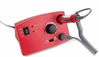 Фрезер для педикюра и маникюра Nail Polisher DM-211 с педалью, красный