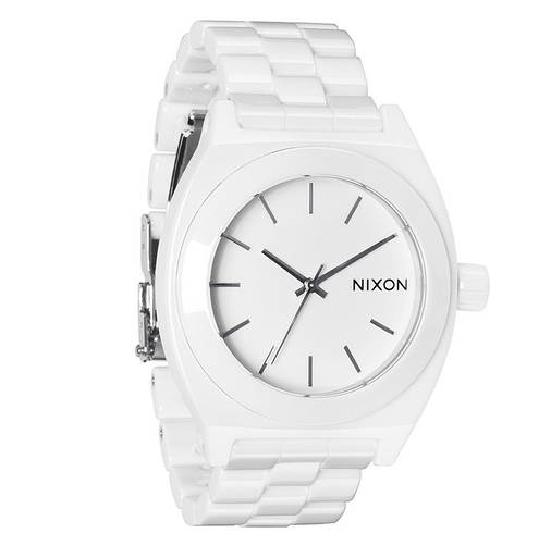 Чоловічий годинник Nixon Білий, фото 2