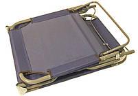 Раскладушка MH-3086 188х56х28 см, синяя, фото 3