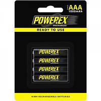 Аккумулятор POWEREX AAA/LR03 1000mAh (4шт)