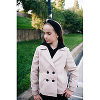 Пальто-пиджак кашемировое для девочки 460-3