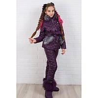 Зимний костюм детский для девочки Юта 299