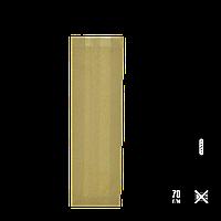 Бумажный пакет без ручек крафтовый 310х100х30мм (ВхШхГ) 70г/м² 100шт (100), фото 1