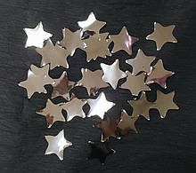 Аксесуари для свята Конфеті зірка срібний 35мм 100грам