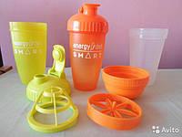 Шейкер с клапаном для коктелей Энерджи Диет Energy Diet shaker