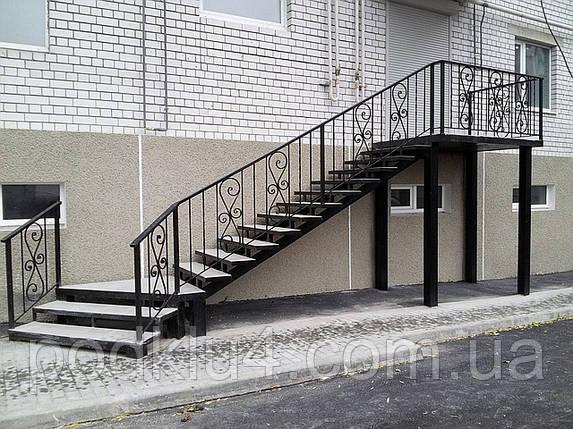 Лестницы входные уличные, фото 2