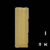 Паперовий пакет без ручок крафтовый 390х80х40мм (ВхШхГ) 40г/м2 100шт (272), фото 1