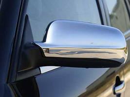 Skoda Octavia Tour A4 Накладки на дзеркала (2 шт., нерж) Несиметричні