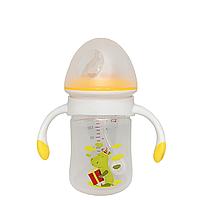 Бутылочка с грузиком (180 мл.)(желтая), фото 1