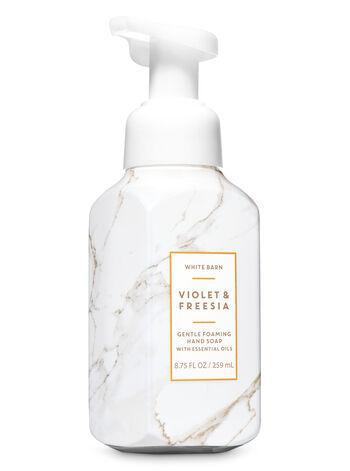 Мыло-пена для рук Bath and Body Works Violet freesia