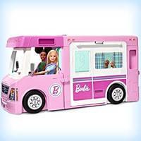 Большой Дом на колесах Барби Кемпер мечты 3в1. Barbie 3-in-1 DreamCamper