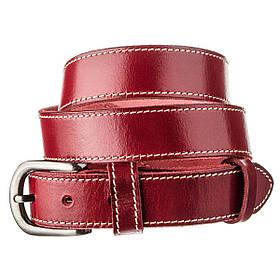 Ремень женский Vintage 20124 Бордовый