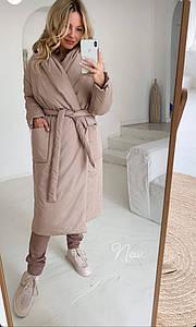 Женское пальто на синтепоне норма