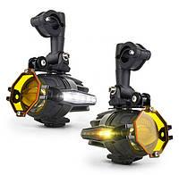 BMW комплект протитуманок, LED доп. свет, протитуманные фары, 40 Вт, ходовые огни, фото 1