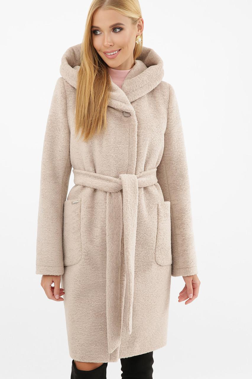 Пальто жіноче П-333 Розмірна сітка: 40, 42, 44