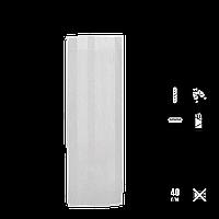 331 Пакет бумажный цельный, белый 310х100х40мм (ВхШхГ) 40г/м² (1уп/100шт.), фото 1