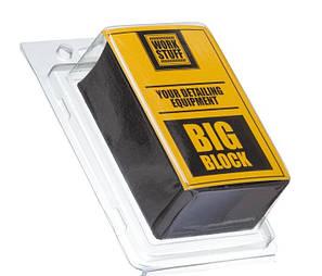 Брусок автоскраб для очистки кузова ЛКП Work Stuff Big Block, фото 2