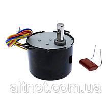 Электромотор 1.2 об/мин. 220В. 6,5 Вт. KTYZ-50 . реверсивный.