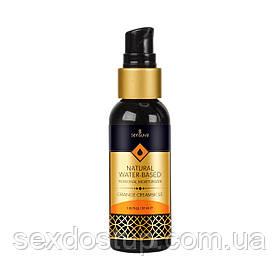 Лубрикант с ароматом апельсинового крема Sensuva Natural WaterBased Orange Creamsicle, 57мл