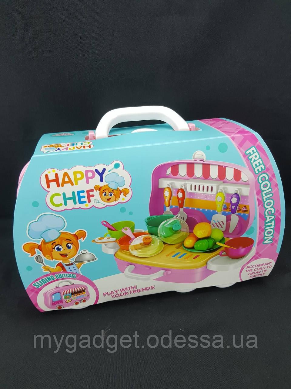 Детский чемоданчик для деток (Кухня) Happy Chef для игры