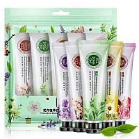 Набор кремов Senana для очень сухой кожи рук - цветочные ароматы 5в1